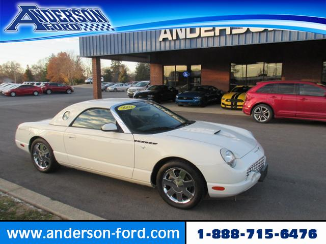 Pre-Owned 2002 Ford Thunderbird 2dr Conv w/Hardtop Deluxe