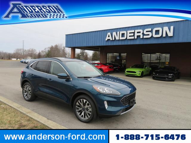 New 2020 Ford Escape Titanium Hybrid AWD