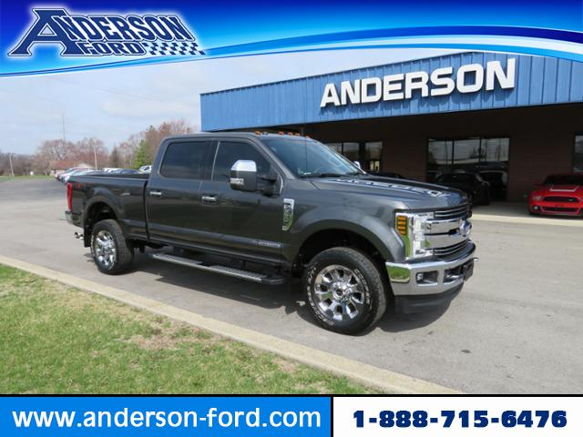 Pre-Owned 2018 Ford Super Duty F-350 SRW LARIAT 4WD Crew Cab 6.75' Box