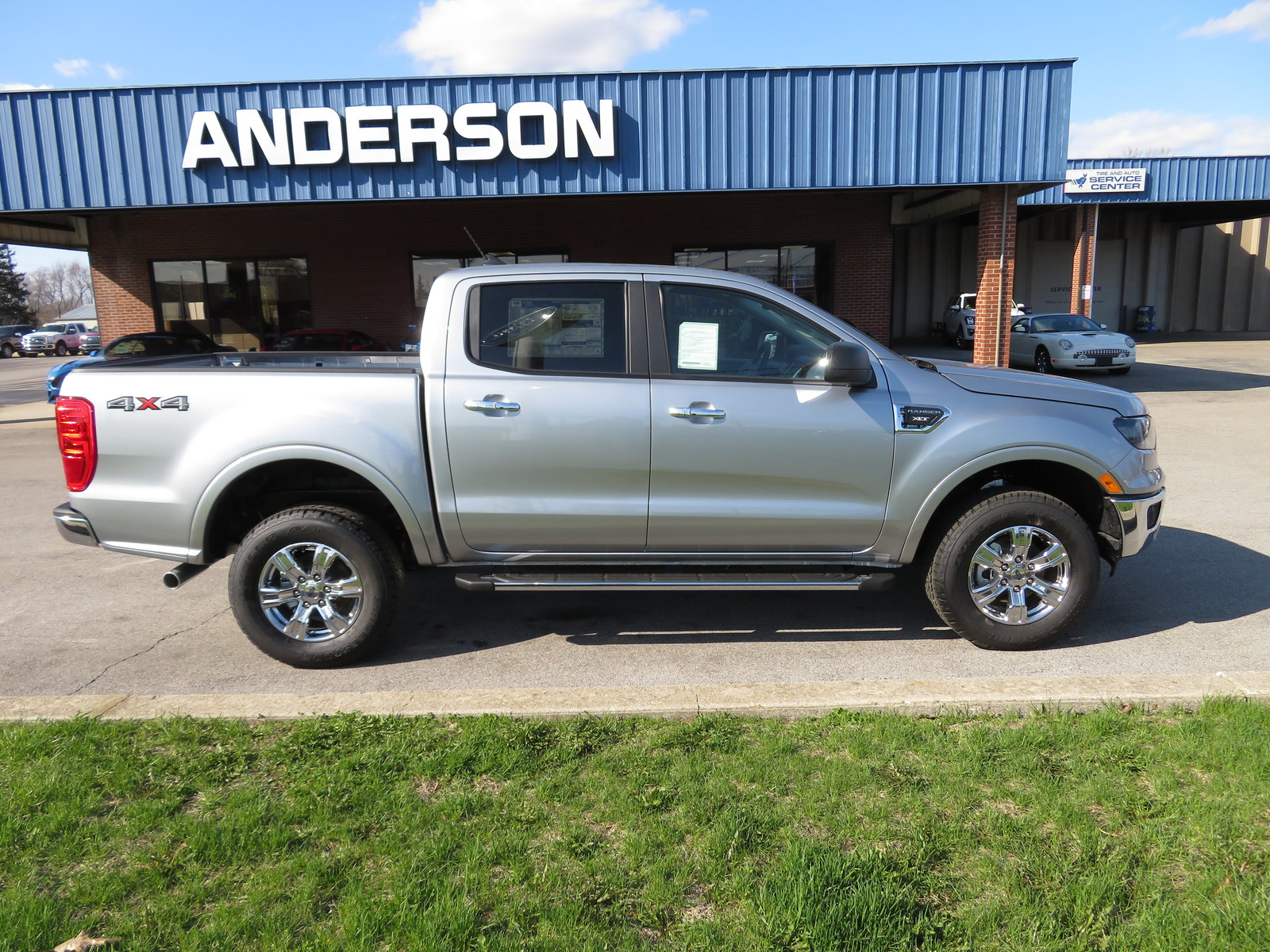 New 2020 Ford Ranger XLT 4WD SuperCrew 5' Box