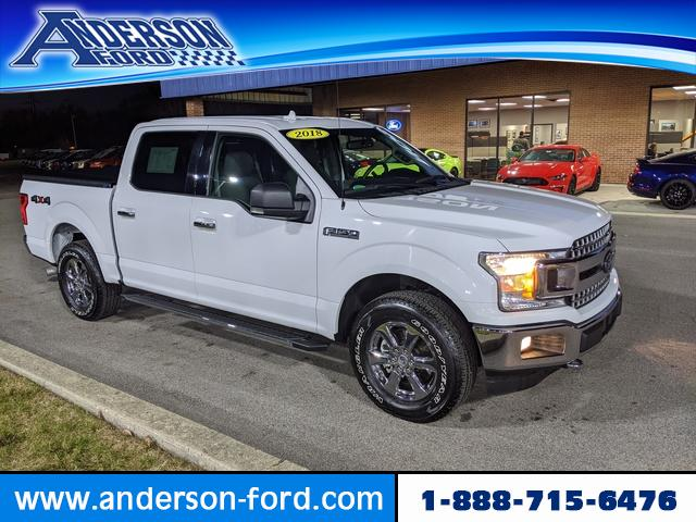 Pre-Owned 2018 Ford F-150 XLT 4WD SuperCrew 5.5' Box