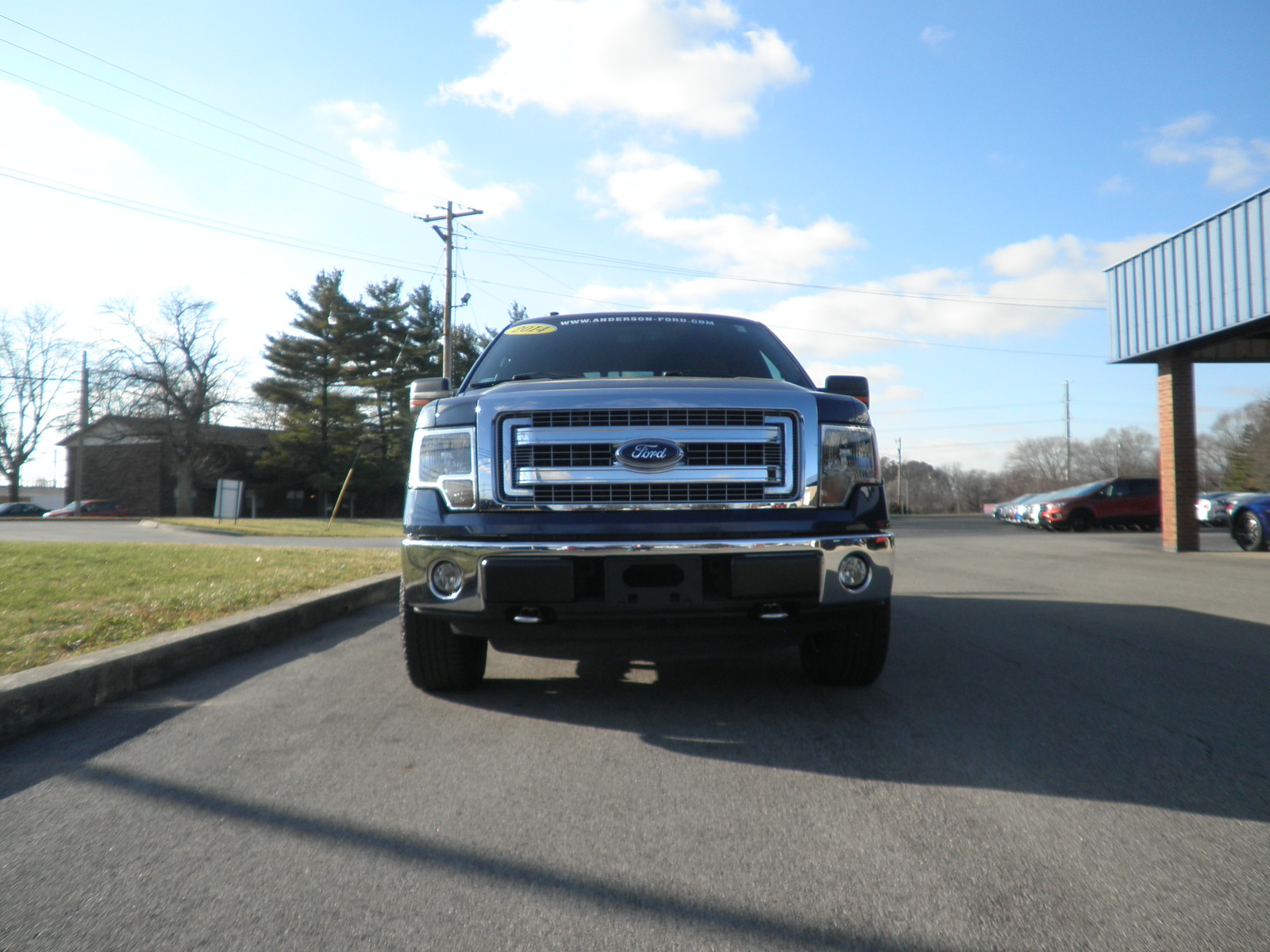 Pre-Owned 2014 Ford F-150 4WD SuperCrew 157 XLT