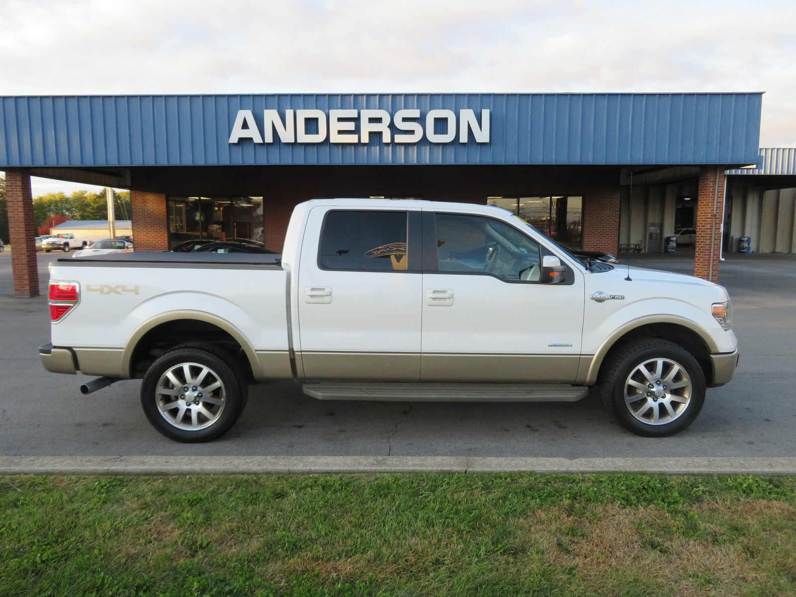 Pre-Owned 2013 Ford F-150 4WD SuperCrew 145 King Ranch