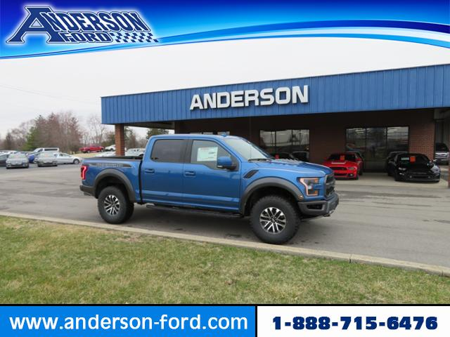 Super Crew Cab >> New 2019 Ford F 150 Raptor 4wd Supercrew 5 5 Box 4wd Crew Cab Pickup