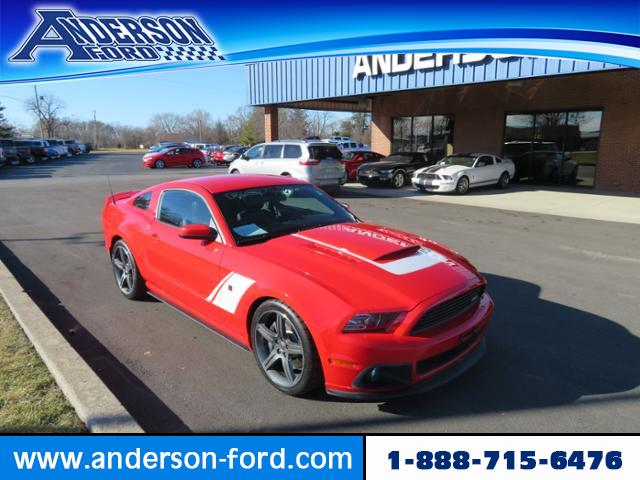 Roush Stage 3 >> Pre Owned 2014 Ford Mustang Roush Stage 3 Rwd 2dr Car