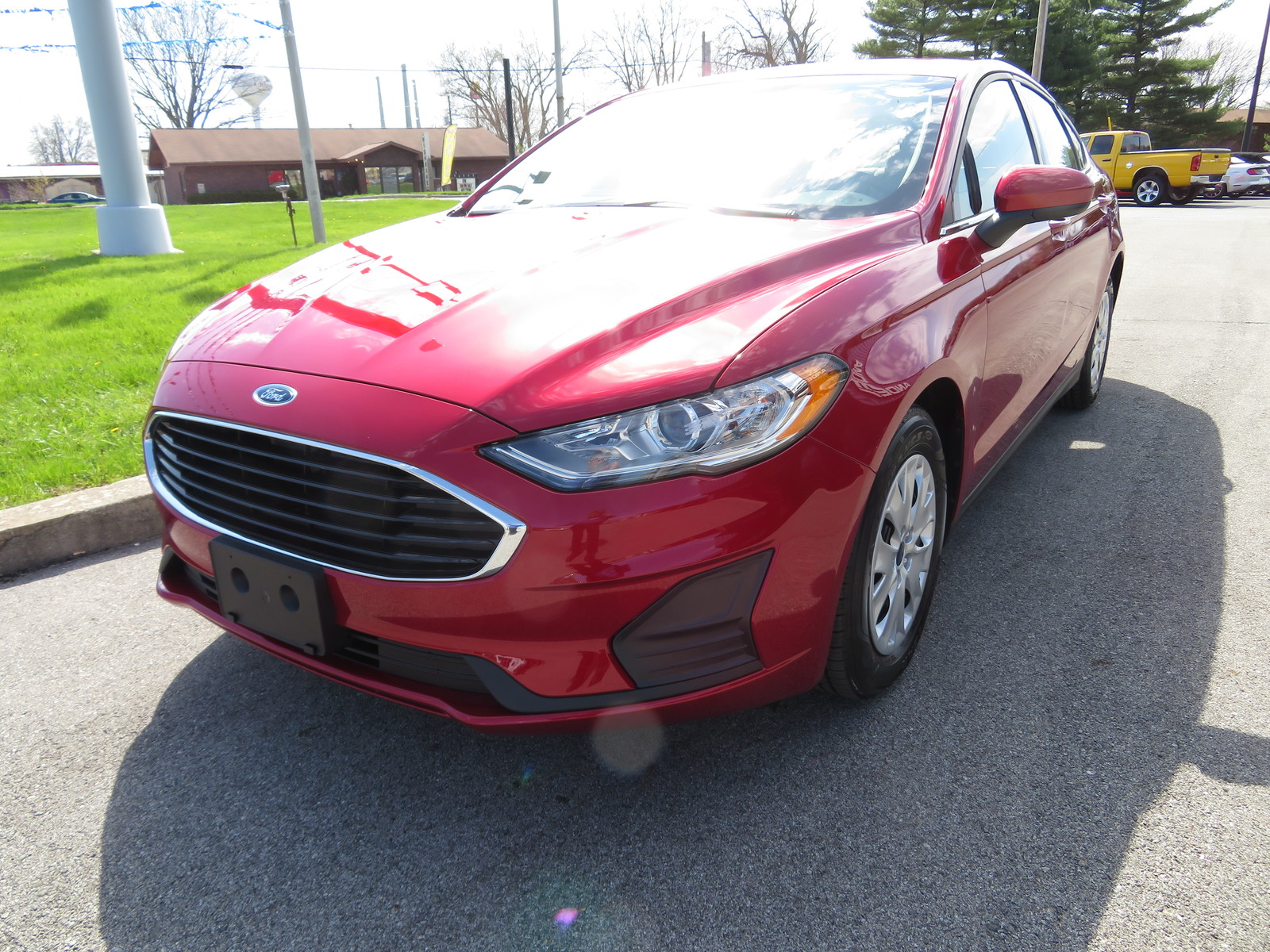 New 2020 Ford Fusion S FWD