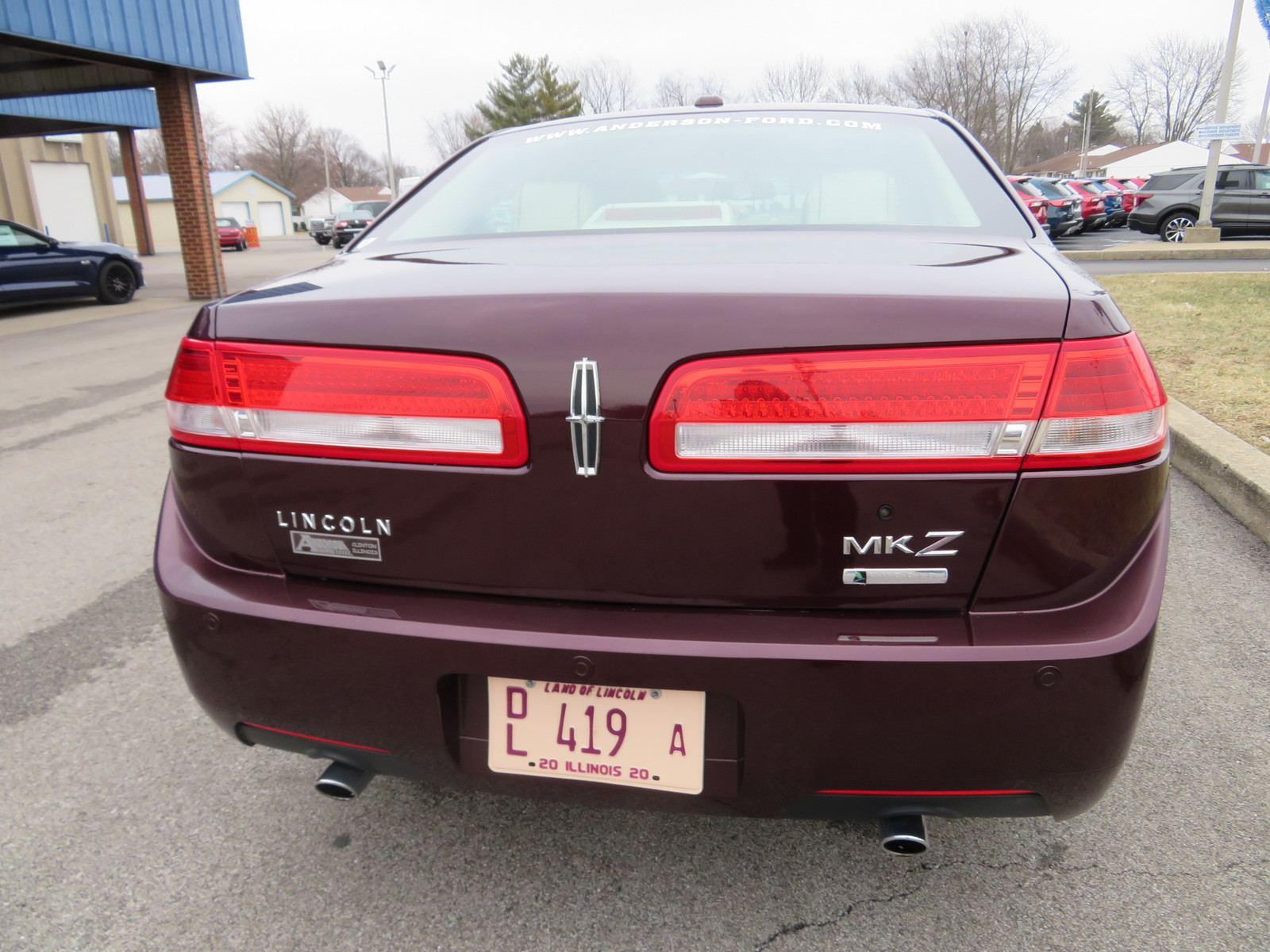 Pre-Owned 2012 Lincoln MKZ 4dr Sdn Hybrid FWD