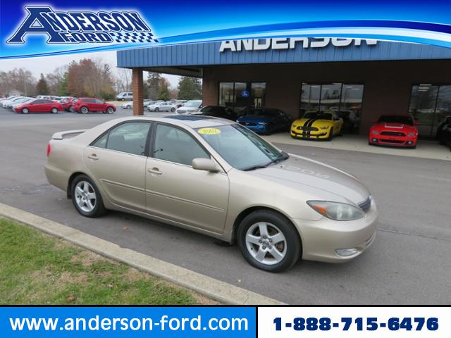 Pre-Owned 2002 Toyota Camry 4dr Sdn SE V6 Auto