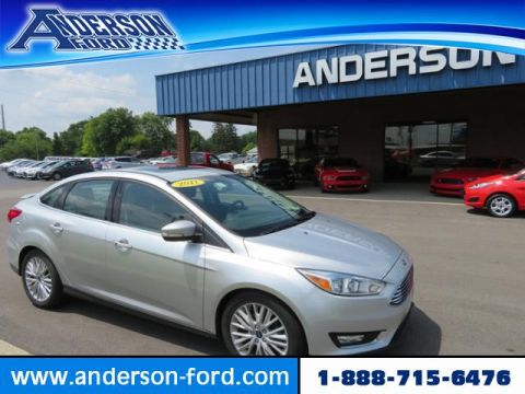 Pre-Owned 2017 Ford Focus Titanium Sedan