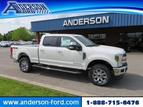 New 2019 Ford Super Duty F-250 SRW LARIAT 4WD Crew Cab 8' Box