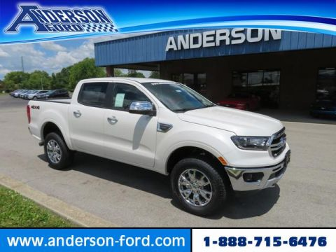 New 2020 Ford Ranger LARIAT 4WD SuperCrew 5' Box