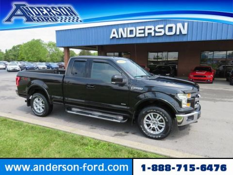 Pre-Owned 2015 Ford F-150 4WD SuperCab 145 Lariat