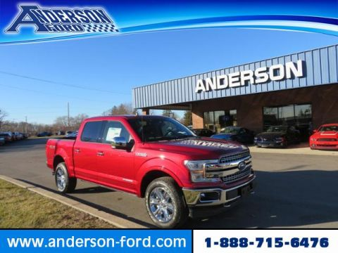 New 2019 Ford F-150 LARIAT 4WD SuperCrew 5.5' Box