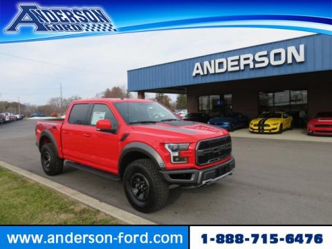 New 2018 Ford F-150 Raptor 4WD SuperCrew 5.5' Box